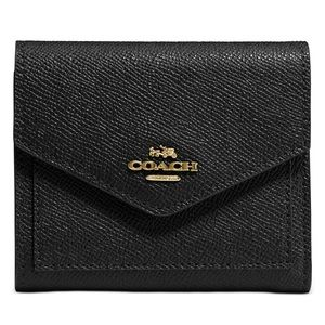Coach new york leather wallet